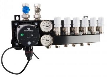 Qualifloor Robot standaard verdeler voor vloerverwarming